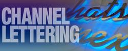 channel lettering