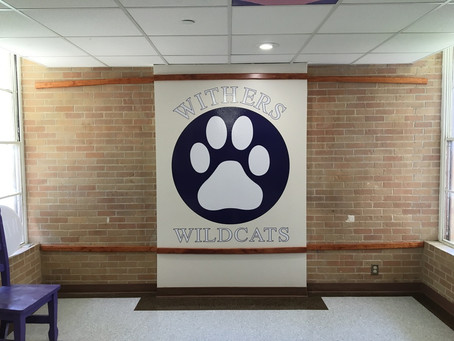 Withers Elementary Logo, Wall, & Background