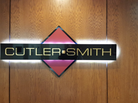 Double Layered LED Signage for Cutler Smith
