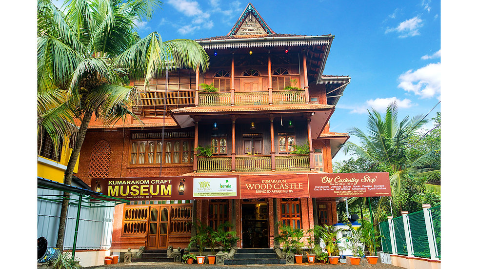 Kumarakom Wood Castle Best Hotel Resort in Kumarakom