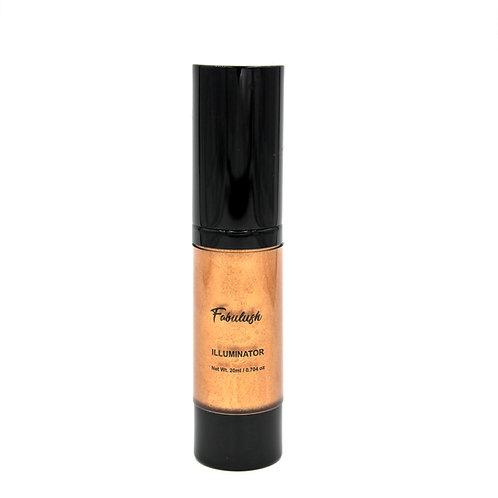 Illuminator Face - Highlighter - Liquid Illuminator Rusty Copper