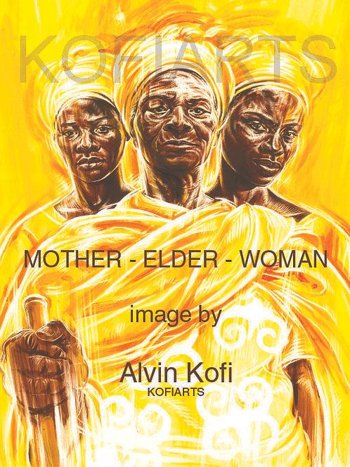 ART PRINTS | MOTHER - ELDER - WOMAN