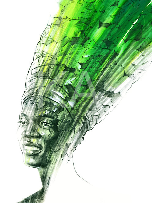 ART PRINTS | CROWNING GLORY - NATURE