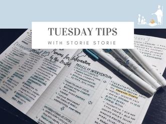 Tuesday tips: Pass those exams