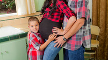 Family Photo Shoot, Maternity Photography, Children's Photo Session: Vintage or Retro House Loca