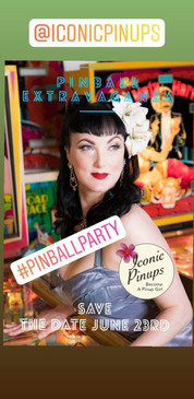 pinup ball Party