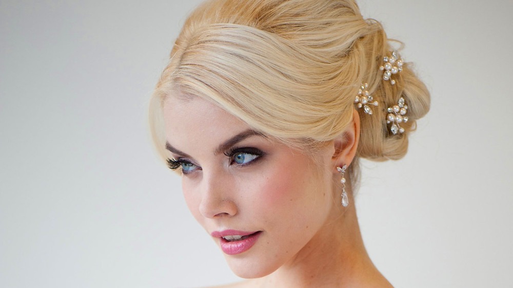 Los Angeles makeup wedding bridal hair