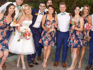 Elegant Retro Vintage Palm Springs Wedding With Makeup and Hair by Stacy Lande of Iconic Pinups in L