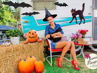 Halloween Vintage Trailer Photo Shoots in Los Angeles!