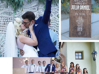 The Best Wedding Makeup Artist and Photographer in Los Angeles:  Palm Springs wedding was gorgeous!