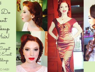 Best Event Makeup Artist for Southern California Events, Wedding, Red Carpet, Vintage and Retro and
