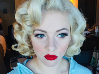 Best Retro and Vintage Hairstyles and Makeup Southern California