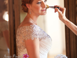 Gatsby Vintage Retro Bride Makeup and Hair and Photography for Los Angeles Wedding at the Carondelet