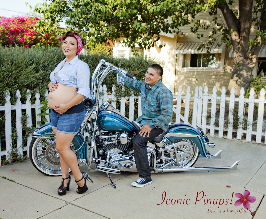 Maternity Motorcycle Shoot L.A.!