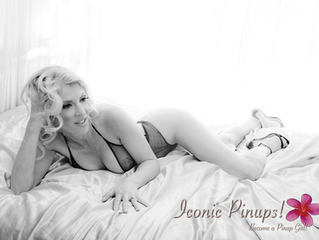 Los Angeles Boudoir Photo Shoots for Pinup Girls and EVERY Girl! Valentine's Day or ANY day!