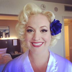 Marilyn Monroe Wedding L.A.