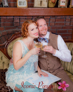 Gatsby Inspired Engagement Shoot L.A