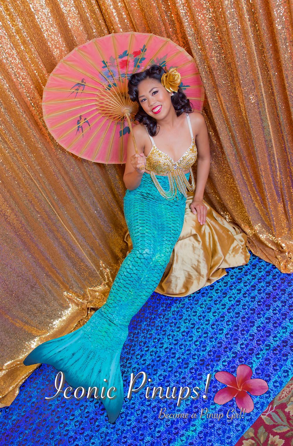 Mermaid Photo Shoot Los Angeles/ Pinup Mermaid!