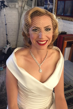 Vintage Bridal Hair and Makeup L.A.