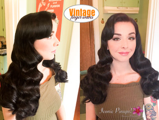 Vintage Finger Wave Hairstyles Southern California Brides and All Events