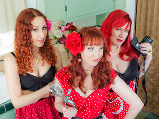 ​ Iconic Pinups offers average women chance to be old school bombshells: Affordable photo sessions w