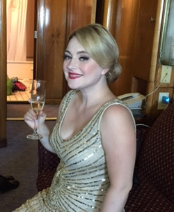 great gatsby bridal party queen mary