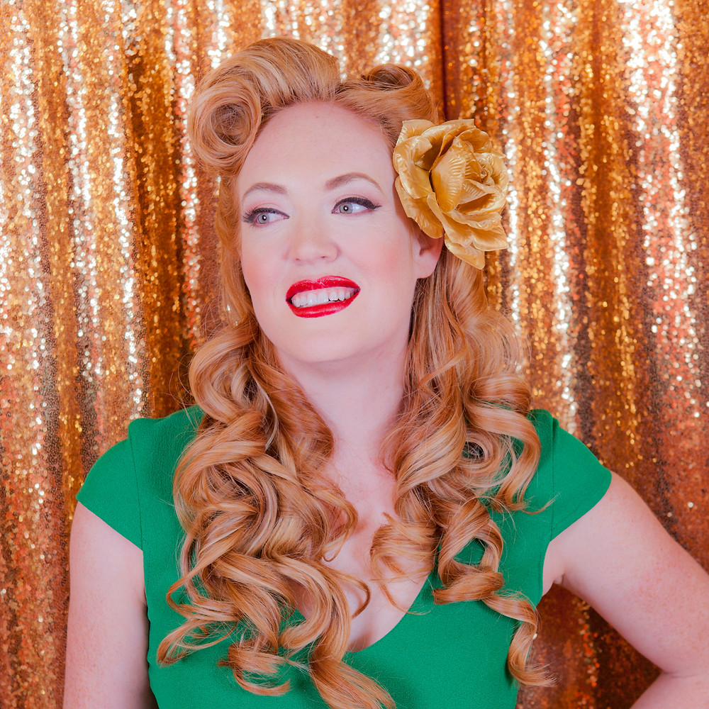 "Los Angeles Wedding Hair and Makeup Artist: ""Yes We Do Victory Rolls"""