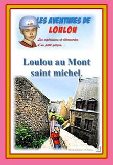 Loulou au Mont Saint Michel