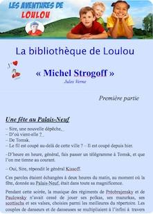 Michel Strogoff 1er partie