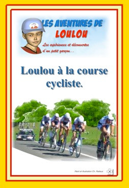 Loulou à la course cycliste