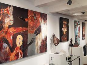 EXPOSITION : V. ATTIA (Peintre) et D.CHRISTIDÈS (Sculptrice)