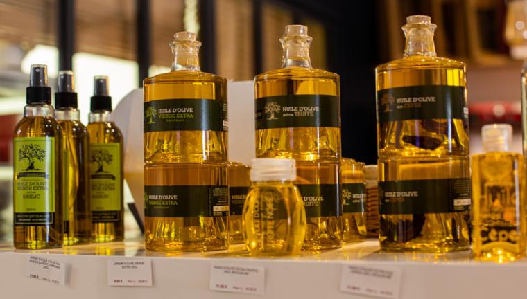 Des belles huiles d'olives