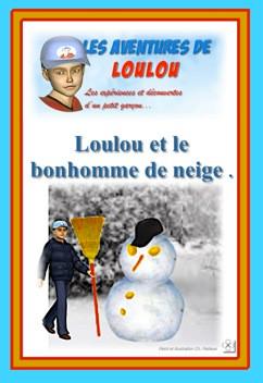 Loulou et le bonhomme de neige