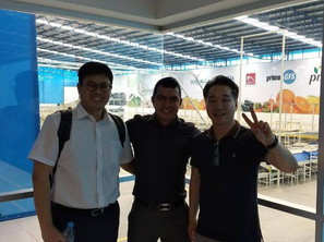 Our friends from Korea
