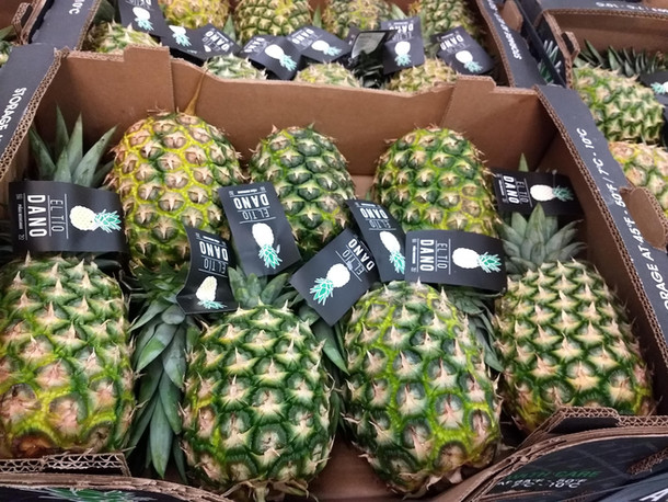 Pineapples in USA
