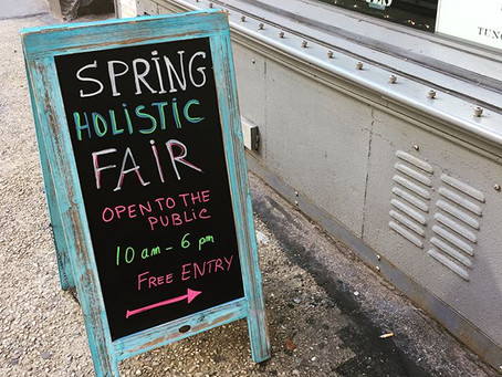 Sacred Art Objects Debut at the Spring Holistic Fair - March 24th
