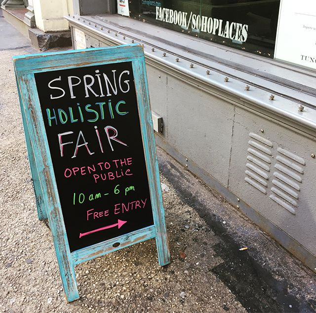 Spring Holistic Fair at Soho Spaces