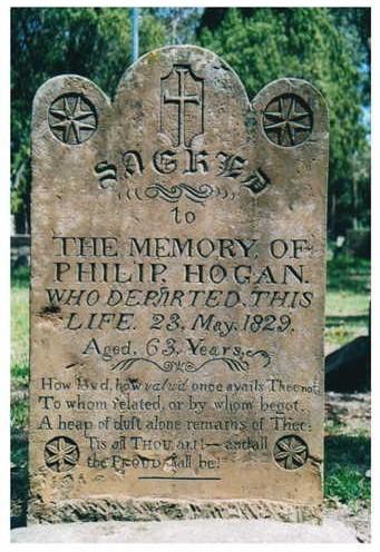 Philip Hogan Headstone