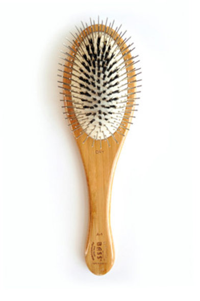 BASS Combination Brush - Pin/Boar Bristle Brush