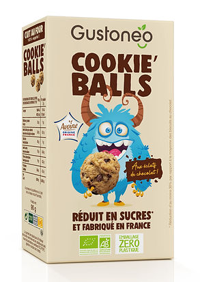 Packaging Cookie'balls éclats choco