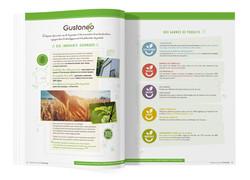 Pages intérieur Catalogue Gustoeno