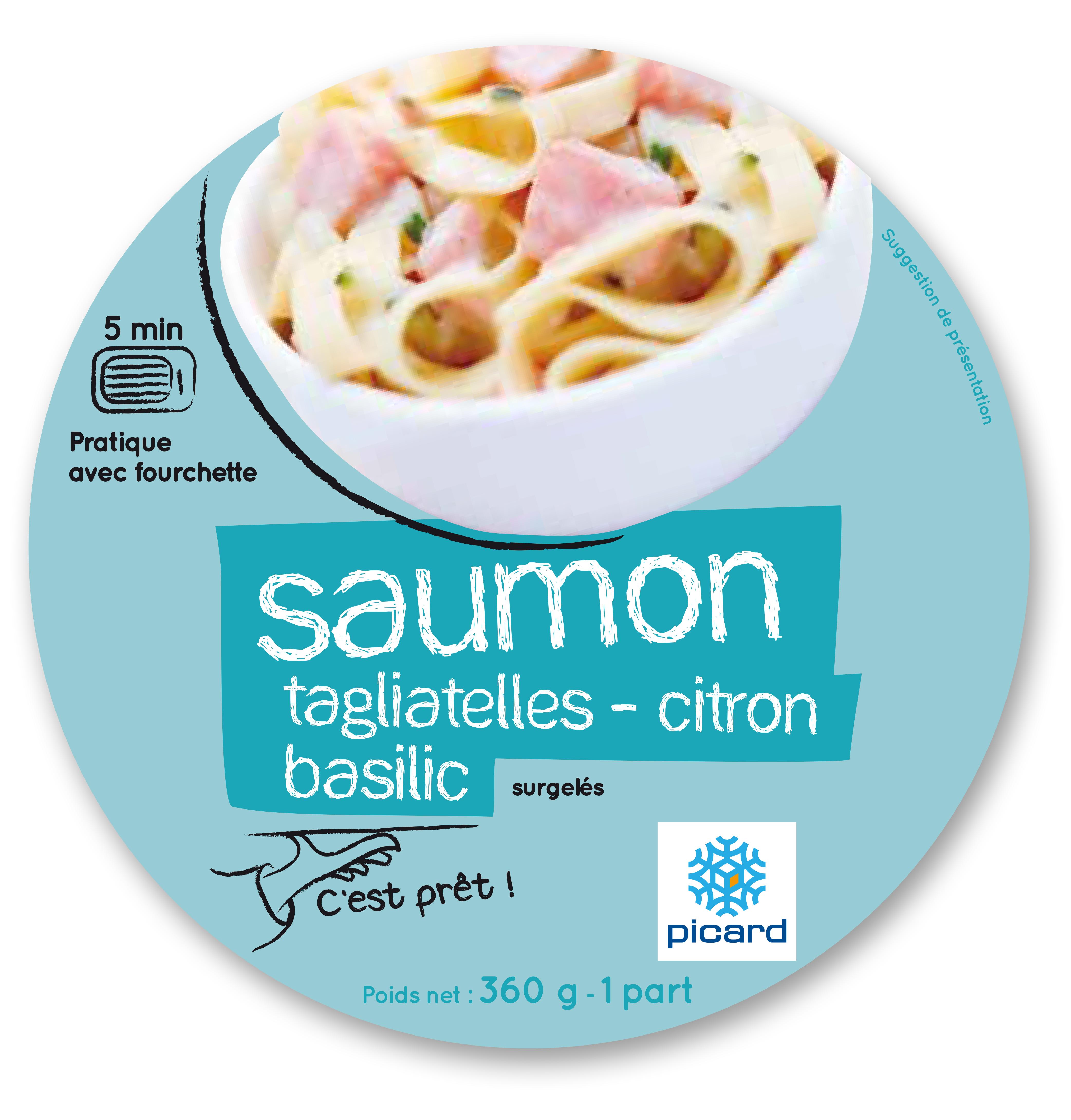 Box repas Saumon Picard