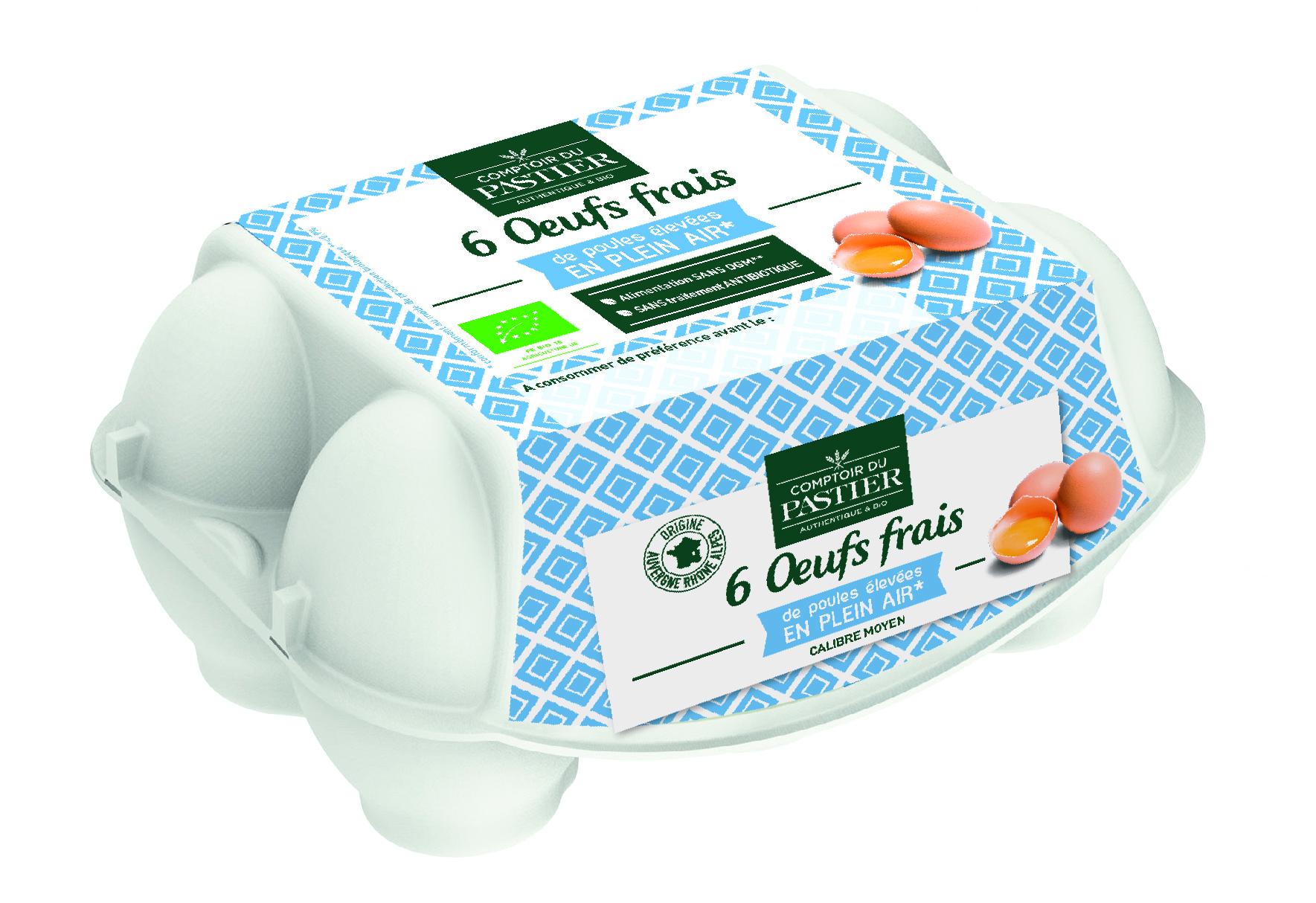 Boîte d'œuf Comptoir du Pastier