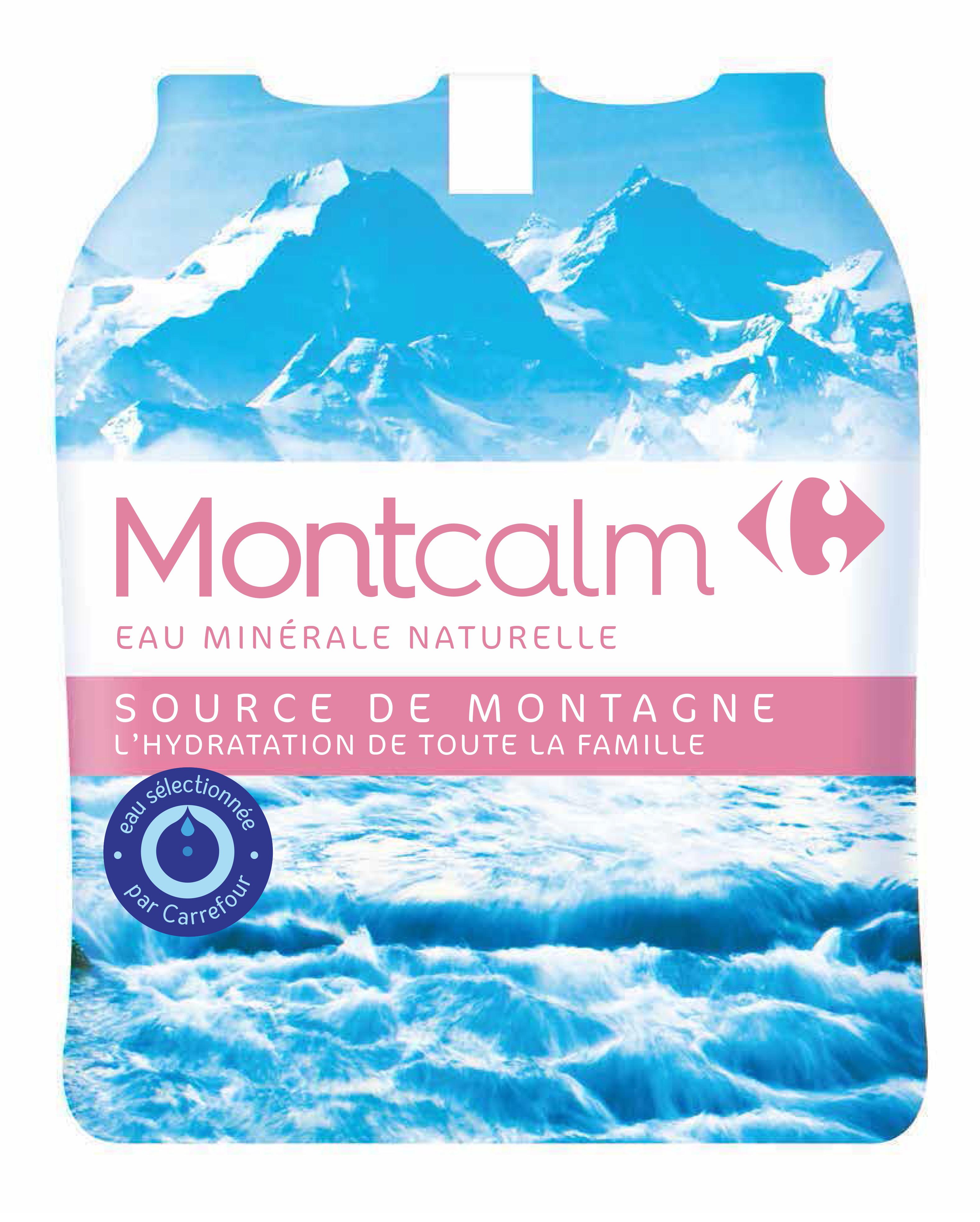 Eau Montcalm Carrefour Slive