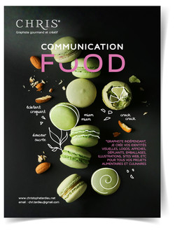Flyer Communication Food