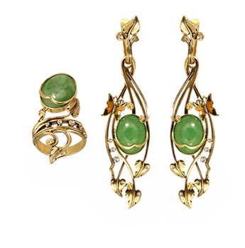 exclusive jewelery with Chinese jade, unique jewelry, awakening, jeweler Igor Orlov