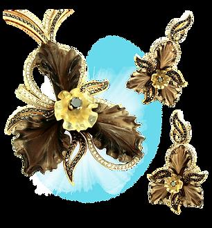 exclusive jewelery, unique jewelry, black orchid, jeweler Igor Orlov