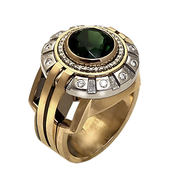exclusive ring for men, Caesar, unique jewelry, men's jewelry, handmade, engraving, gold ring for men, jeweler Igor Orlov