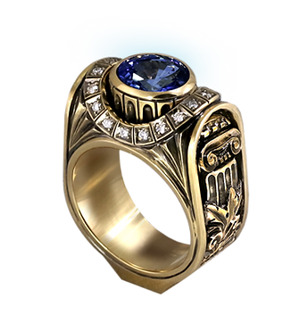 exclusive ring for men, rome, sapphire, diamonds, unique jewelry, men's jewelry, handmade, engraving, gold ring for men, jeweler Igor Orlov