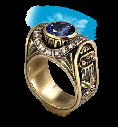 exclusive ring for men, rome, sapphire, diamonds, unique jewelry, men's jewelry, handmade, engraving, gold ring for men, jeweler Igor Orlov
